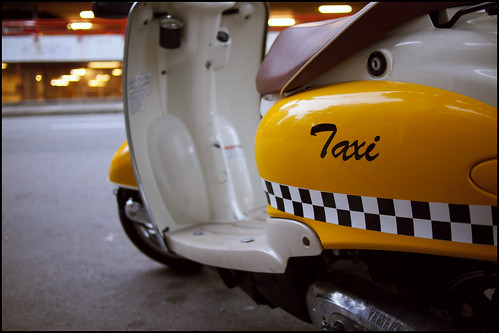 Taxi! by Eric Flexyourhead