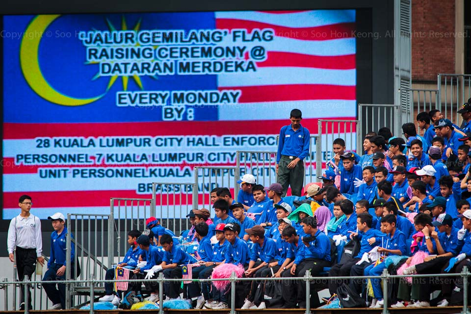 Malaysia Independence Day Rehearsal @ Dataran Merdeka, KL, Malaysia