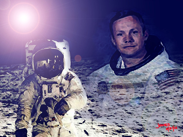 neil armstrong astronaut badges - photo #30