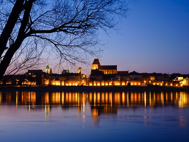 The city of Torun in Poland