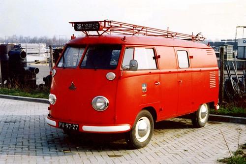 PV-97-27 Volkswagen Transporter bestelwagen 1956
