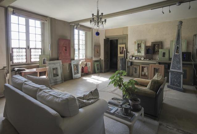 Le Château - exhibition room