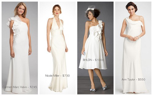 Fab Wedding Gowns $1000 & Under by Nina Renee Designs