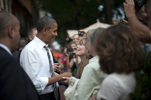 Barack Obama in Charlottesville—August 29th