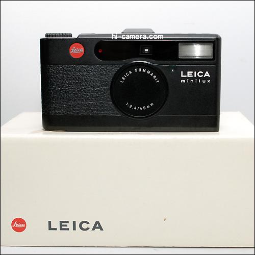Leica minilux black
