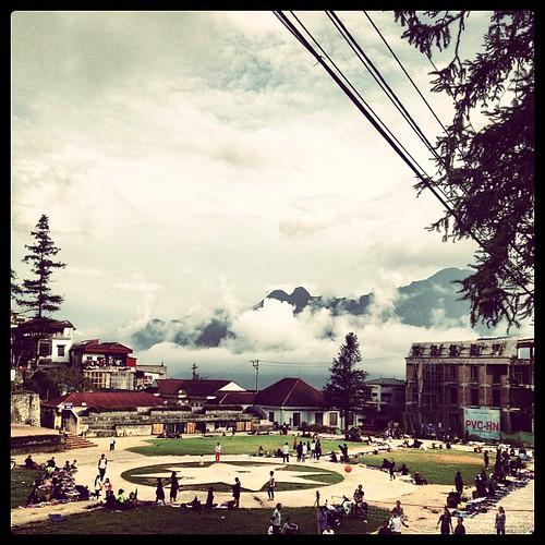 Main square, #Sapa #Vietnam #Travelingram