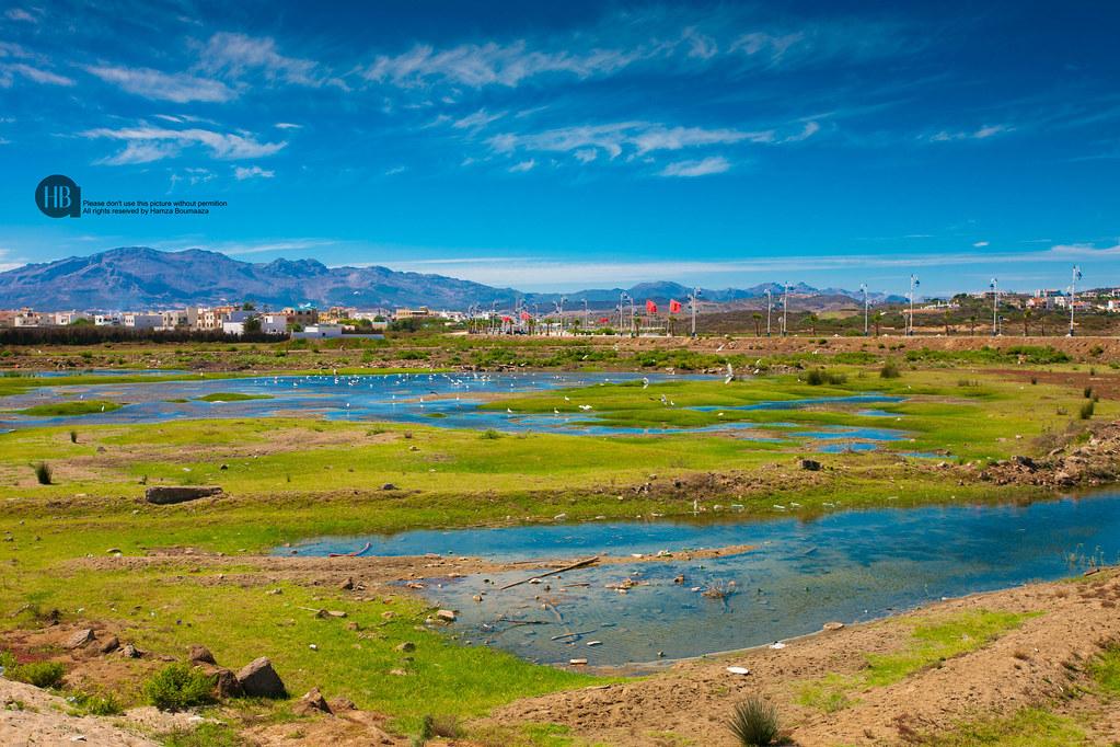بلدة مارتيل شمال المغرب وشاطئها الجميل  صور جميلة