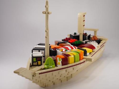 Lego Sushi Boat