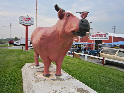 Cowtown Cow Statue