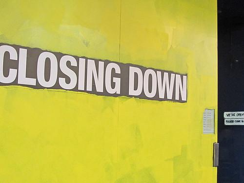 CLOSING DOWN...