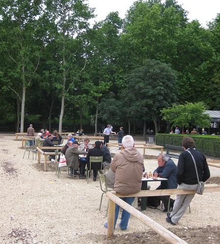 Xardín de Luxemburgo (París). Xadrez