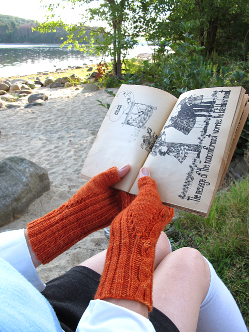 Fiery Searcher Thumb Gusset, Palm