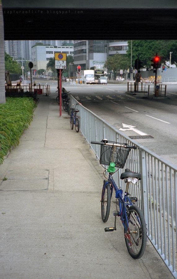 bike in the city