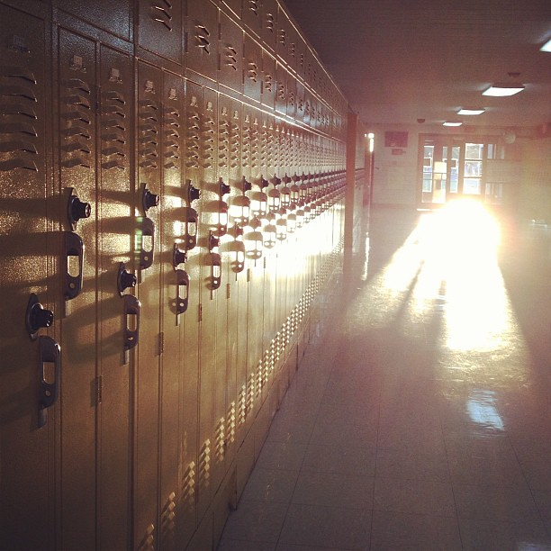 The Hallway #shuttersisters #backtoschool