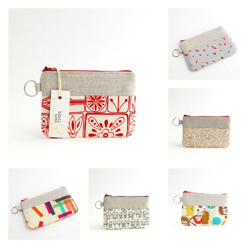 small pouch Collage