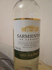 Sarmientos de Tarapaca Sauvignon Blanc 2011 003