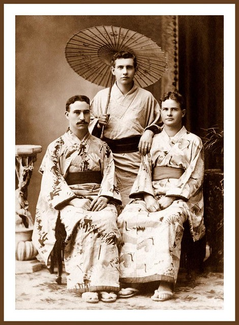 """THE """"GAY 90s"""" in OLD JAPAN -- Pretty Is as Pretty Does"""