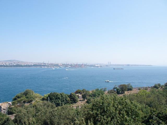 View from Topika Palace terrace