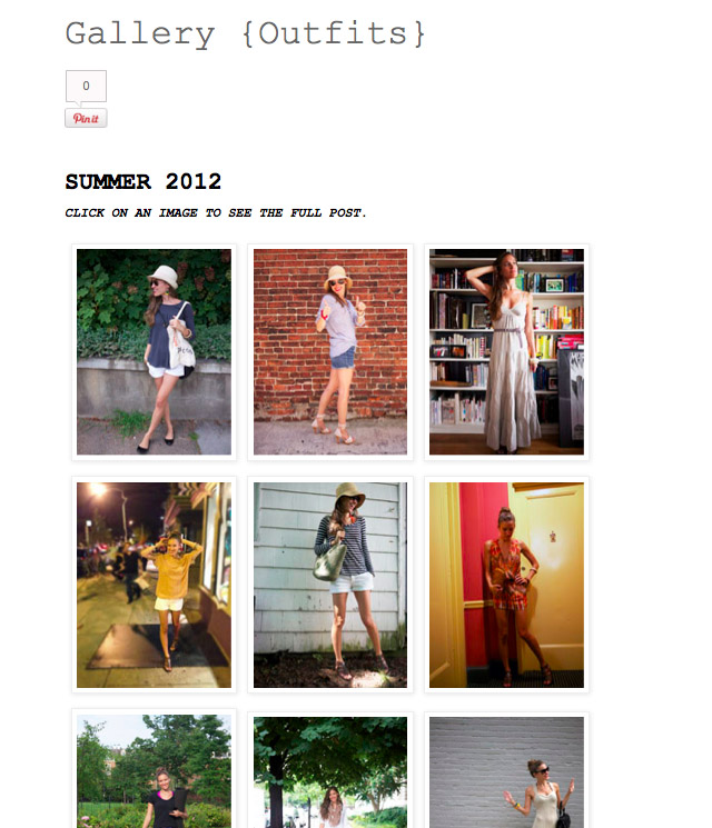 Fair Vanity, Rachel Mlinarchik, Fashion Blog, Summer 2012
