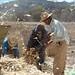Desgranado maíz - Shelling corn; Santo Domingo Yanhuitlán (Región Mixteca), Oaxaca, Mexico por Lon&Queta