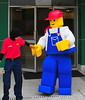Life-size minifig!