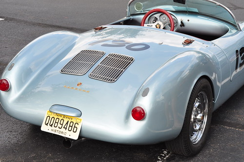 1955 Porsche Spider 550 by LeeLilly