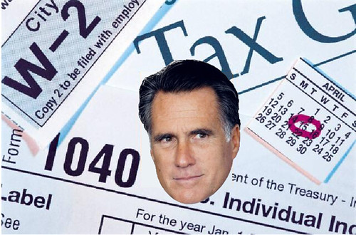 Tax Returns? Romney Won't Even Reveal His Real Name.
