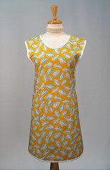 art, day dress, neck, textile, clothing, yellow, cocktail dress, dress,
