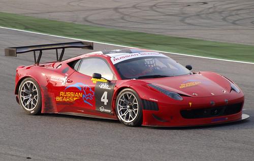 Ferrari 458 Italia de Russian Bears Motorsport 1