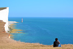 Beachy Head, South Downs, East Sussex, UK