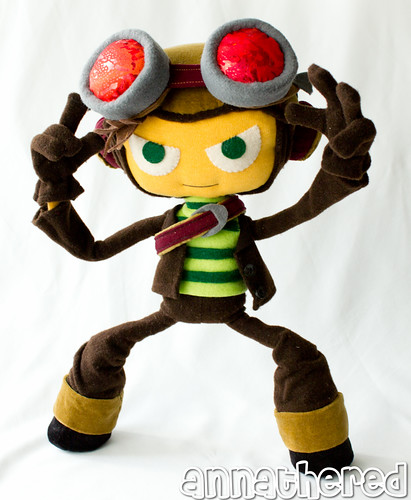 stuffed stuff: Raz from Psychonauts
