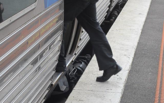 Melbourne platform/train gap