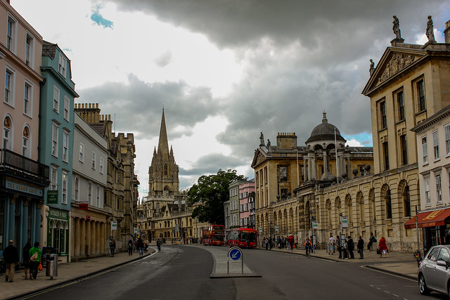 High Street de Oxford
