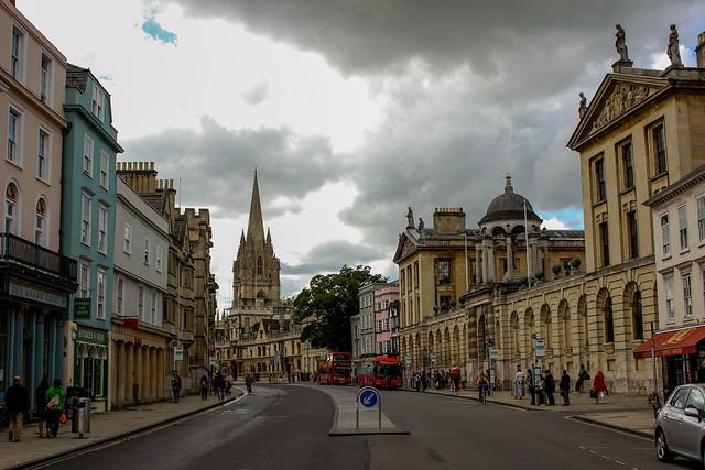 High Street de Oxford