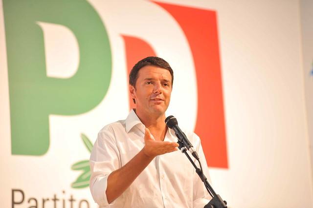Il Segretario Matteo Renzi:
