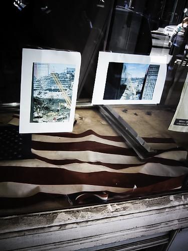 September 11th Window Memorial, November 2001, New York City