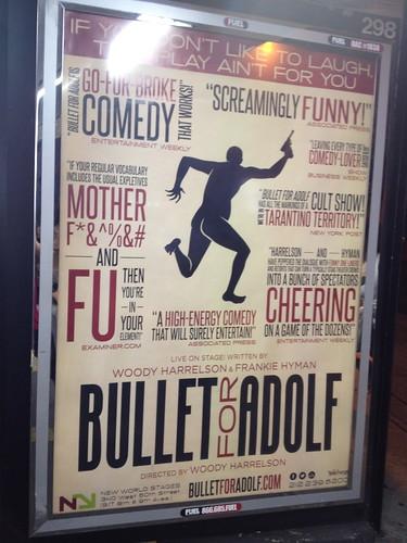 アドルフって、あのアドルフ? 構成主義っぽいポスター。