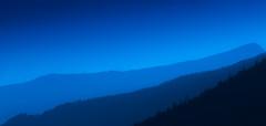 [フリー画像素材] 自然風景, 山, 青色・ブルー ID:201209150600