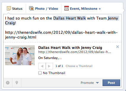 Better Blogging Thursday: How to Fix Link Thumbnails for Facebook