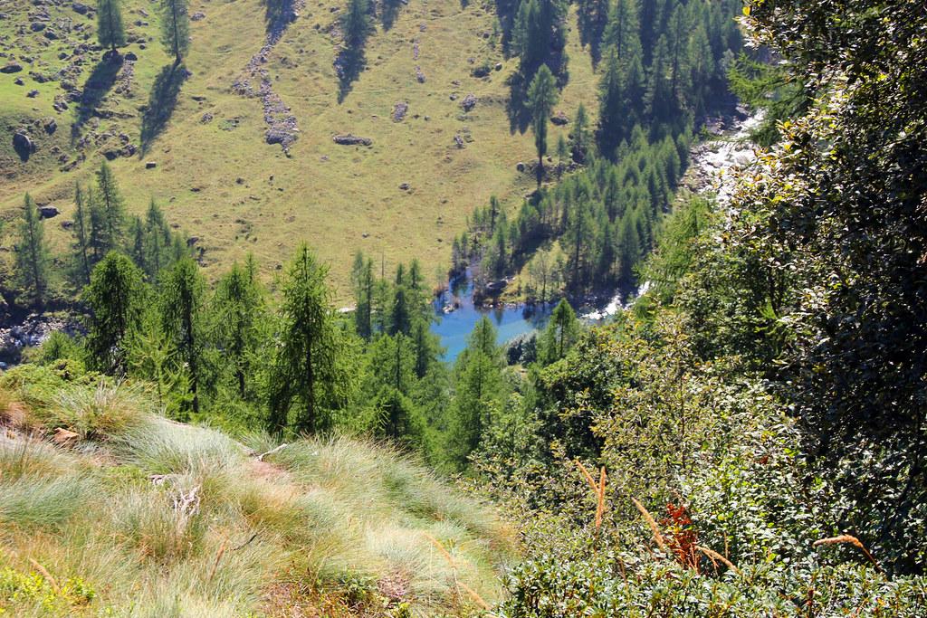 Val Vogna - laghetto