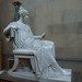 Chatsworth, Derbyshire:  Sculpture Gallery by jacquemart
