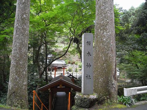 桜木神社と象の小川@吉野町-01