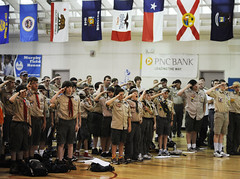 Fort Meade hosts Boy Scouts STEM day
