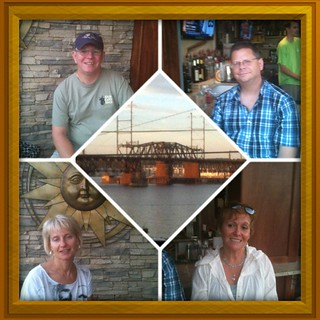 Visiting my home town with Mark, Ona, and Lila - Havre de Grace Maryland