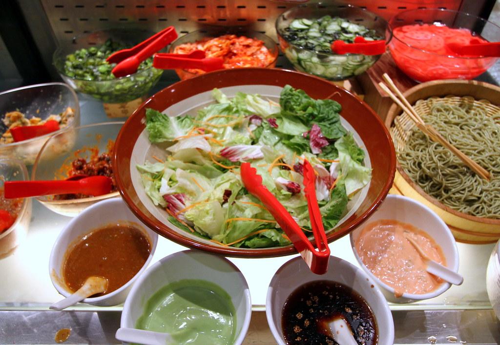 Kiseki Japanese Buffet Restaurant: Salad Selection