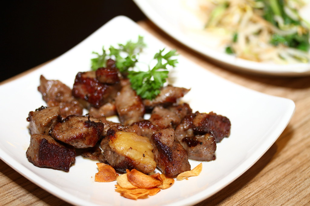 Kiseki Japanese Buffet Restaurant: Western Grill Selection: Pork Collar with Ginger Sauce