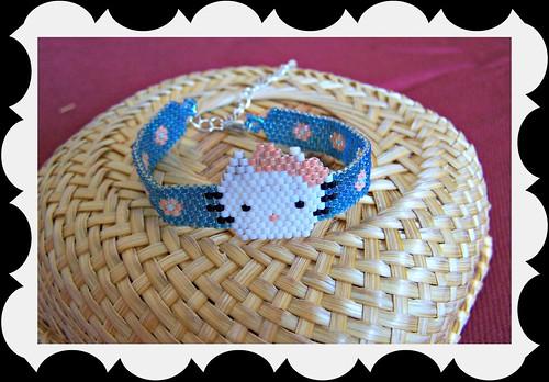 pulsera kitty 7991888108_f84f7fa00c