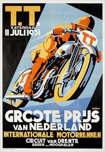 Daan de Vries. Tourist Trophy 1931