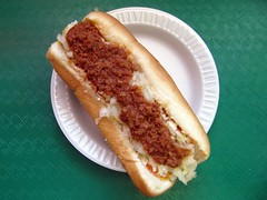 Hot Dog at Green's Lunch