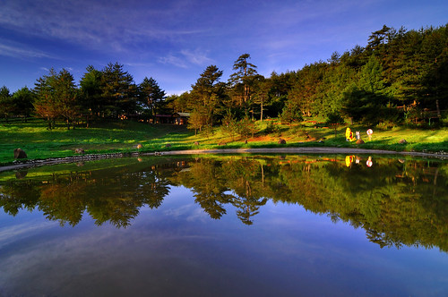 Early Autumn at Fushoushan Farm  @福壽山農場